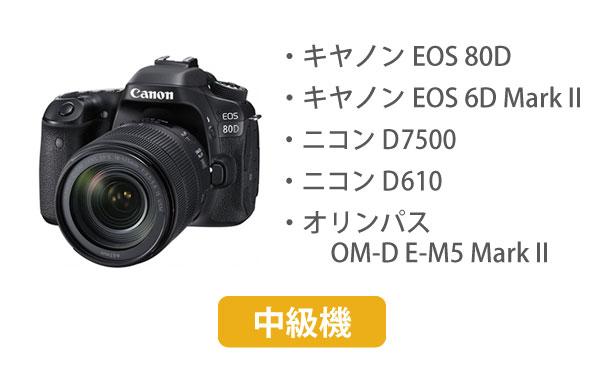 中級者向けカメラ