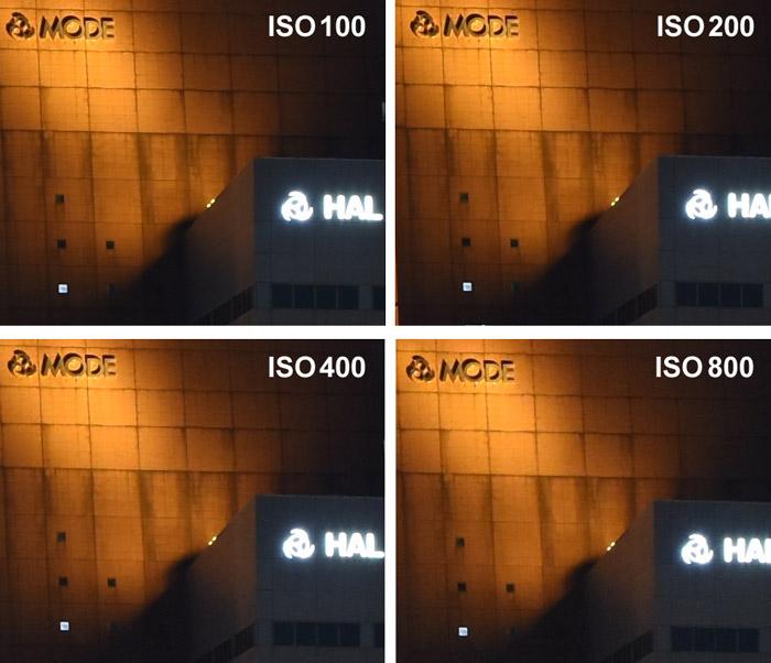 ISO感度比較-高感度ISO100-ISO800