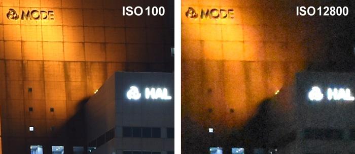 ISO感度比較-ISO100-ISO12800