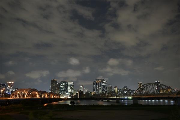 夜景雲の状態
