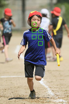 運動会子供写真AF-C-一眼レフ