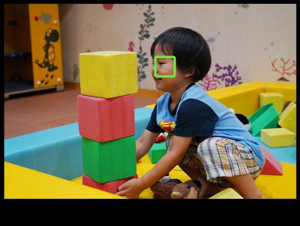 AF-S屋内の子供撮影