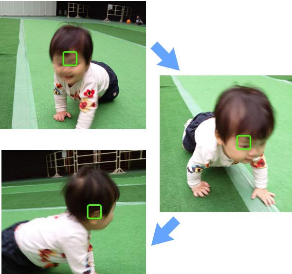 子供撮影AF=C