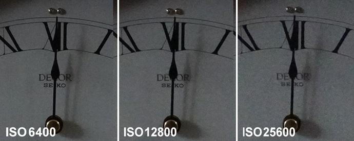 α6600高感度画質の比較