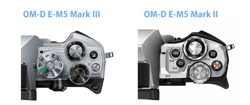 OM-D E-M5 Mark IIIグリップ
