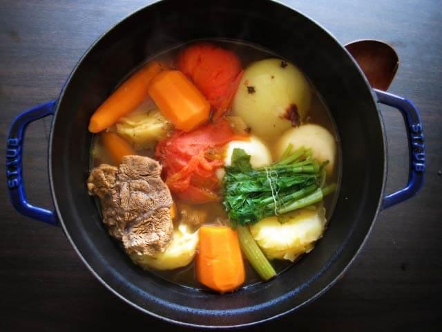 ハイアングル-料理