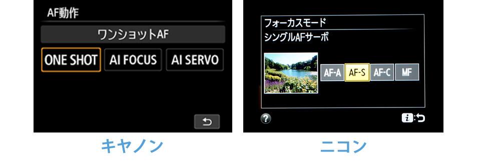 AFモード設定