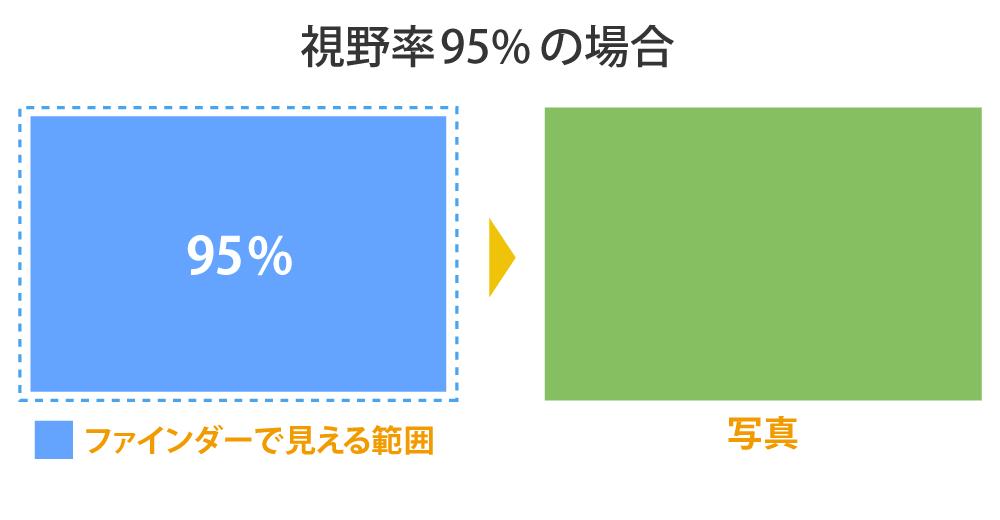 視野率95%