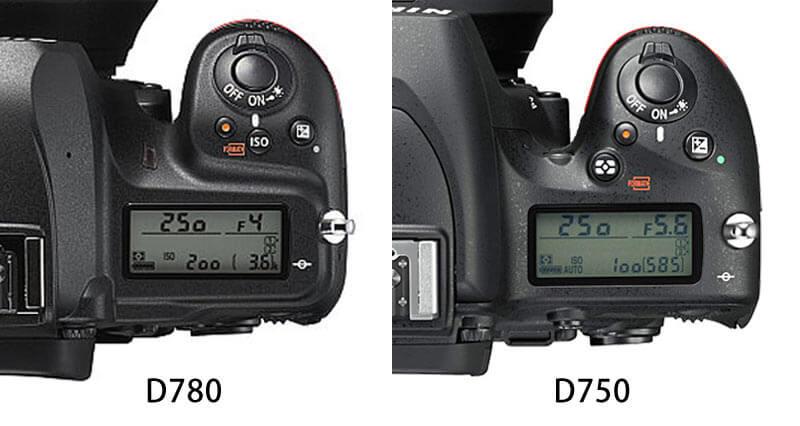 D780ボタン配置