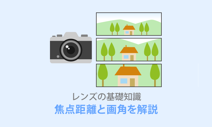 レンズの焦点距離・画角をわかりやすく解説