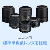 ニコン標準単焦点レンズ