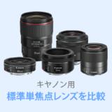 キヤノン標準単焦点レンズ