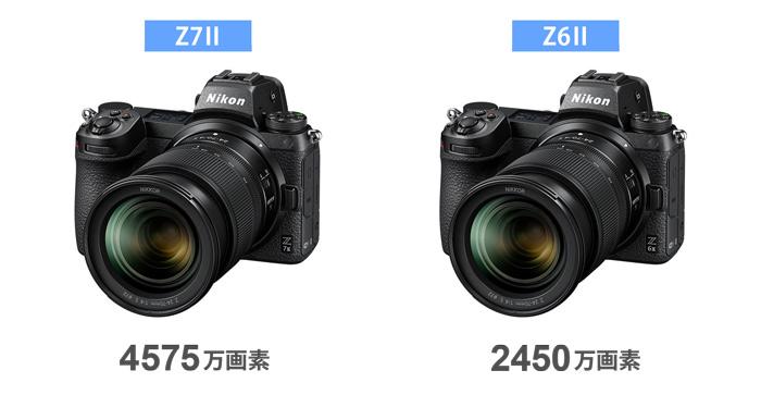 Z7II・Z6II画素数