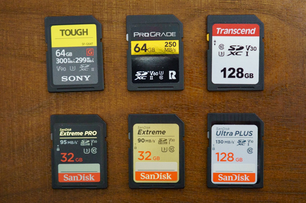 SDカード性能比較