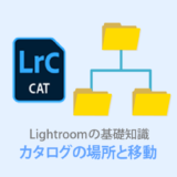 Lightroomカタログの保存場所は?外付けHDDの移動方法も解説