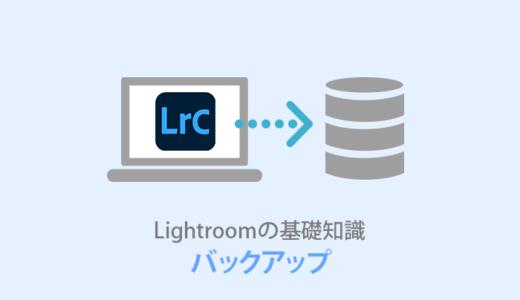 Lightroom【バックアップ方法】保存場所はクラウドが便利!