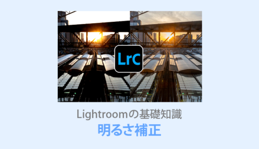 Lightroom【明るさ調整】ハイライト・シャドウ・白レベル・黒レベルの違いを解説