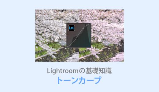 Lightroom【トーンカーブの使い方】明るさやカラーを自由に調整できる