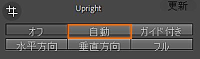 Lightroom Classic変形パネル自動